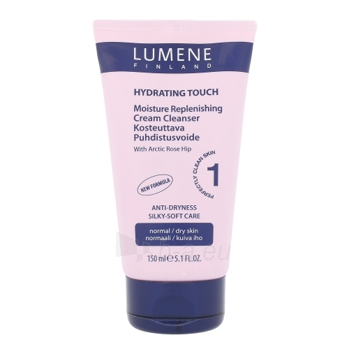 Veido cream Lumene Hydrating Touch Moisture Cream Cleanser Cosmetic 150ml Paveikslėlis 1 iš 1 310820043050