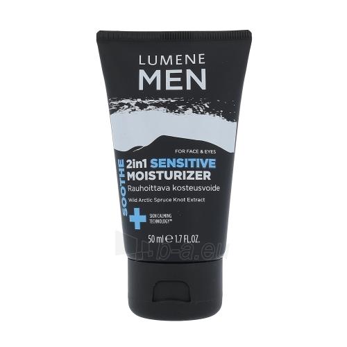 Veido cream Lumene Men Soothe 2in1 Sensitive Moisturizer Cosmetic 50ml Paveikslėlis 1 iš 1 310820046881