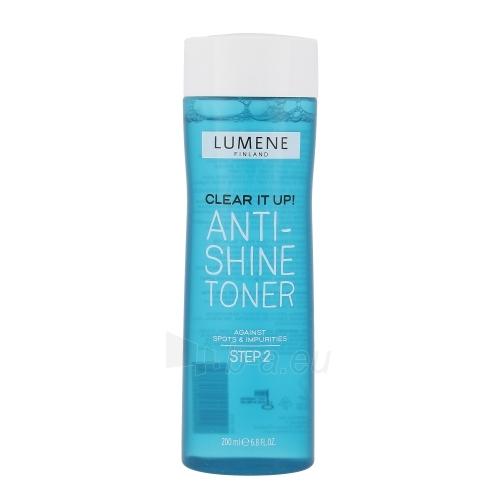 Veido tonikas Lumene Clear It Up! Anti-Shine Toner Cosmetic 200ml Paveikslėlis 1 iš 1 310820043239