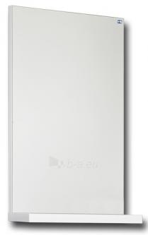 Mirror with white shelf 40 cm SCANDIC SCV40 Paveikslėlis 1 iš 1 250401000297