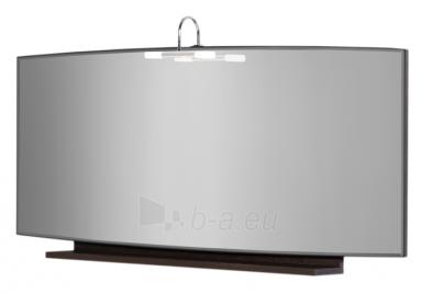 Mirror with shelf LIDIA LYV115-TA, dark Oak Paveikslėlis 1 iš 1 250401000300