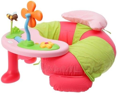 Veiklos foteliukas rožinis Paveikslėlis 1 iš 2 30024800151
