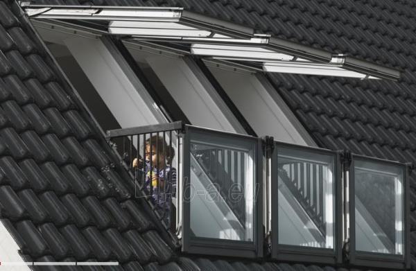VELUX Cabrio balkonas GDL 3066 PK19 94x252 cm. Paveikslėlis 2 iš 2 310820024372