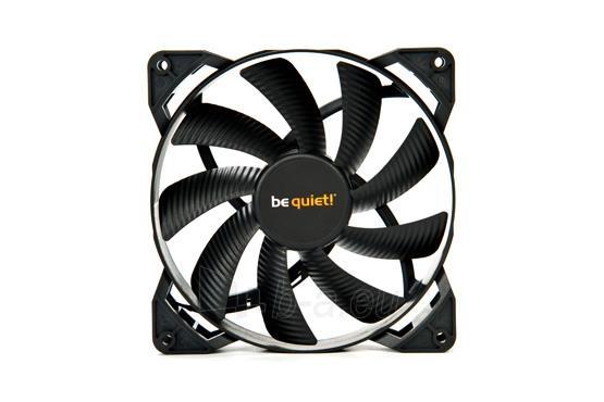 Ventiliatorius be quiet! Pure Wings 2 140mm, 19,2 dBA Paveikslėlis 3 iš 3 2502552400208
