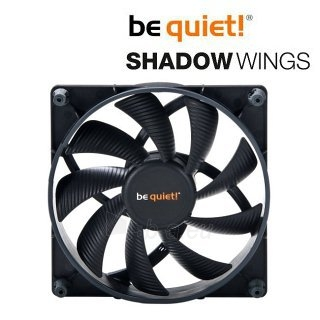 Ventiliatorius be quiet! Shadow Wings SW1 140mm Mid-Speed 140x140x25 1000rpm 17, Paveikslėlis 1 iš 5 2502552400211