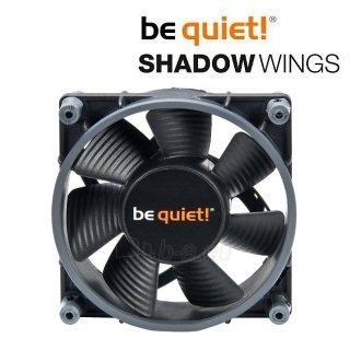 Ventiliatorius be quiet! Shadow Wings SW1 80mm Mid-Speed 80x80x25 2000rpm 15,8dB Paveikslėlis 1 iš 4 2502552400212