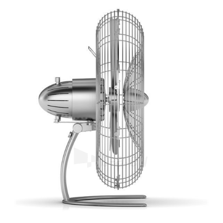 Ventiliatorius Stadler form CHARLY C050E Floor Fan, Number of speeds 3, 60 W, Oscillation, Diameter 45 cm, Stainless steel Paveikslėlis 3 iš 3 310820181749