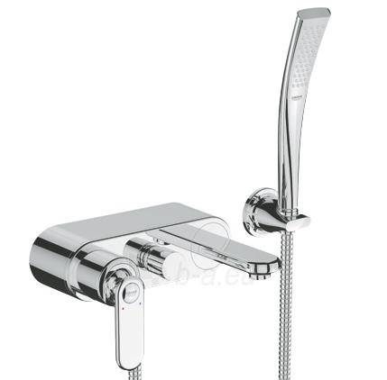 Veris vonios maišytuvas su rankiniu dušu, chromas Paveikslėlis 1 iš 1 270725000350