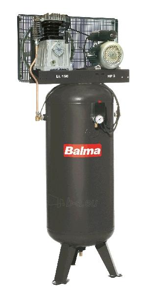 Vertikalus stūmoklinis kompresorius BALMA NS19S/150 VM3 Paveikslėlis 1 iš 1 225291000154