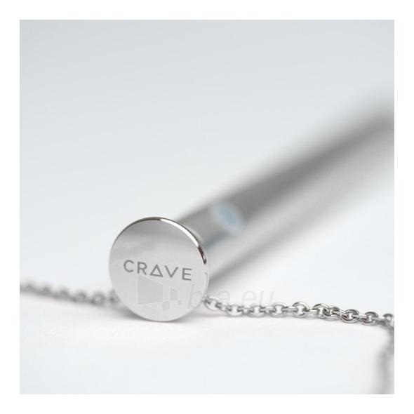 CRAVE - VESPER VIBRATOR NECKLACE SILVER Paveikslėlis 3 iš 5 25140103000162