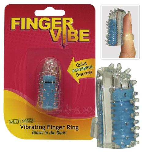Finger Vibe blue Paveikslėlis 1 iš 1 25140105000101