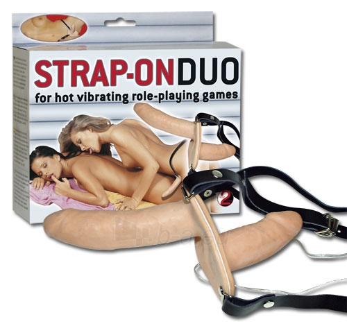 Vibruojantis Strap-on Duo Paveikslėlis 1 iš 1 310820022090