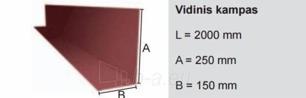 Vidinis kampas Ruukki® 50 Plus Matt (Adamante, T20 profilio skardai) Paveikslėlis 1 iš 1 310820026601