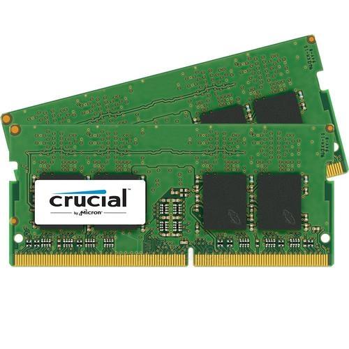 Vidinis kietasis diskas Crucial 2x8GB DDR4 2133 MHZ SODIMM, non-ECC Unbuffered, 1.2V, CL15 Paveikslėlis 1 iš 1 310820043904