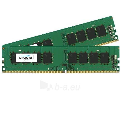 Vidinis kietasis diskas Crucial 2x8GB DDR4-2400 UDIMM, NON-ECC, CL17, Paveikslėlis 1 iš 1 310820043899