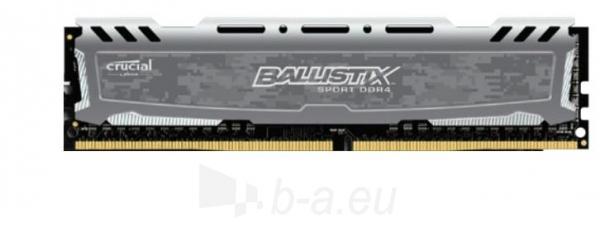 Vidinis kietasis diskas DDR4 Crucial Ballistix Sport LT 8GB 2400MHz CL16 1.2V Paveikslėlis 1 iš 1 310820043842