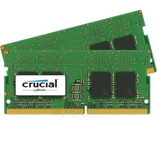 Vidinis kietasis diskas DDR4 SODIMM Crucial 32GB (2x16GB) 2133MHz PC4-17000 CL15 1.2V Paveikslėlis 1 iš 1 310820043891