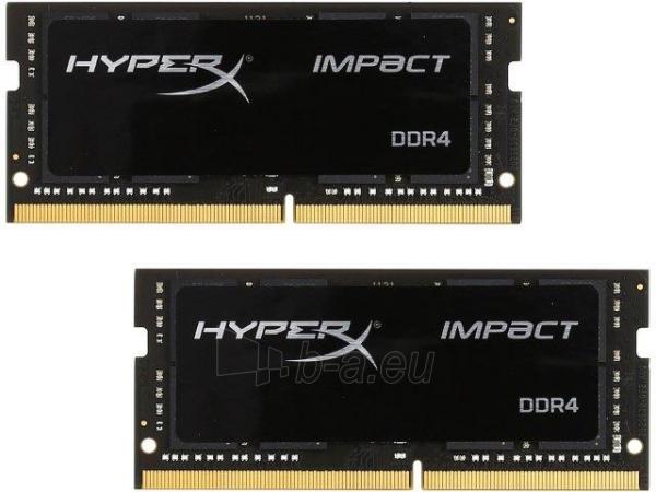 Vidinis kietasis diskas Kingston HyperX Impact 2x16GB 2133MHz DDR4 CL13 SODIMM Paveikslėlis 1 iš 1 310820043912