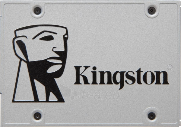 Vidinis kietasis diskas Kingston SSDNow UV400 480GB SATAIII, 550/500 MB/s, 7mm, Paveikslėlis 1 iš 1 310820044255