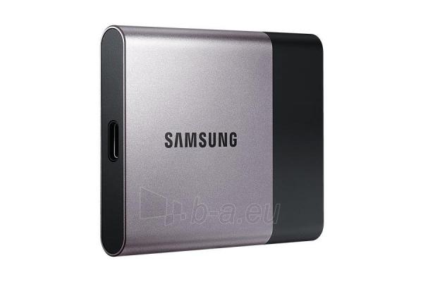 Vidinis kietasis diskas Samsung SSD T3 series, 250GB, 450Mb/s, 74 x 58 x 10.5 mm Paveikslėlis 8 iš 11 310820037459
