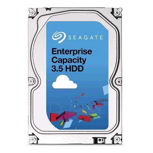 Vidinis kietasis diskas Seagate Enterprise Capacity HDD, 3.5, 1TB, SAS, 7200RPM, 128MB cache Paveikslėlis 1 iš 1 310820044267