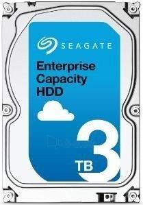 Vidinis kietasis diskas Seagate Enterprise Capacity HDD, 3.5, 3TB, SAS, 7200RPM, 128MB cache Paveikslėlis 1 iš 1 310820044264