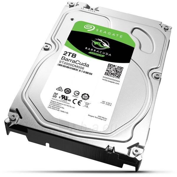 Vidinis kietasis diskas SEAGATE HDD Desktop Barracuda Guardian (3.5/2TB/SATA 6Gb/s) Paveikslėlis 1 iš 1 310820045657