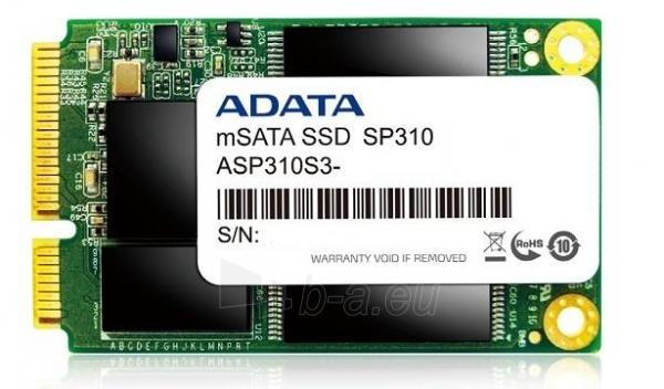 Vidinis kietasis diskas SSD Adata Premier Pro SP310 32GB mSATA Paveikslėlis 1 iš 1 310820044450