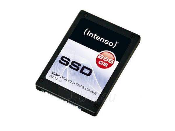 Vidinis kietasis diskas SSD Intenso Top 256GB SATA3, 520/400MBs, Shock resistant, Low power Paveikslėlis 1 iš 2 310820044191