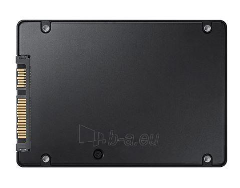 Vidinis kietasis diskas SSD Samsung 850 PRO MZ-7KE512BW 2.5inch 512GB SATA3, 550/520MBs, IOPS 100/90K Paveikslėlis 3 iš 3 310820037299