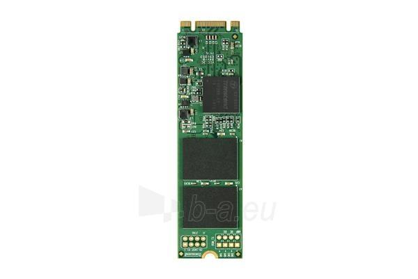 Vidinis kietasis diskas Transcend SSD M.2 SATA 6GB/s, 2280-D2-B-M, 256GB, MLC (read/write; 550/320MB/s) Paveikslėlis 1 iš 1 310820044495