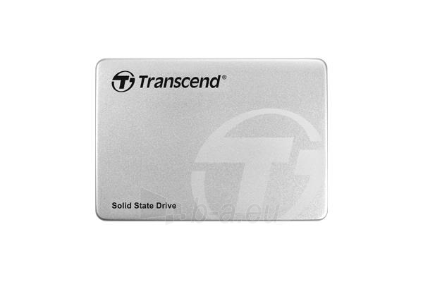 Vidinis kietasis diskas Transcend SSD SSD370 256GB SATA3 2,5 7mm Read:Write(570/320MB/s) Aluminum case Paveikslėlis 1 iš 2 310820037282