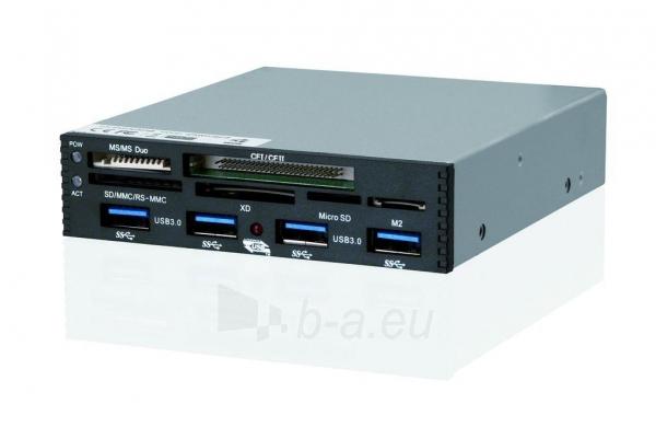Vidinis kortelių skaitytuvas iBOX PCI-EX to USB3.0, Juodas Paveikslėlis 2 iš 3 250255122635