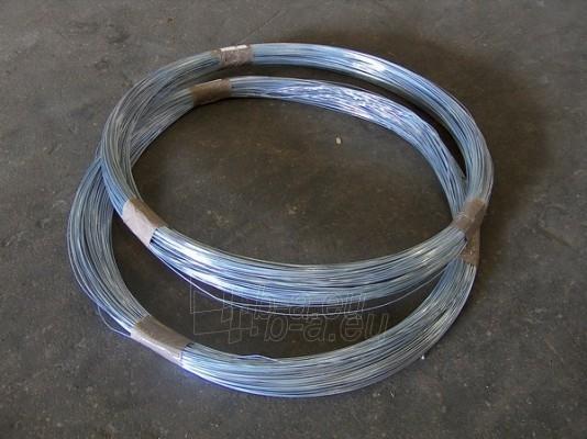 Viela cinkuota d-3,0 mm (5kg ritėje) Paveikslėlis 1 iš 1 310820024693