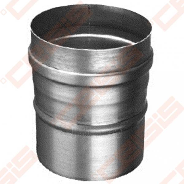 Vienasienė nerūdijančio plieno jungtis sujungti dūmtraukį ir katilą arba židinį JEREMIAS FU32 Dn100 Paveikslėlis 1 iš 4 30005601419