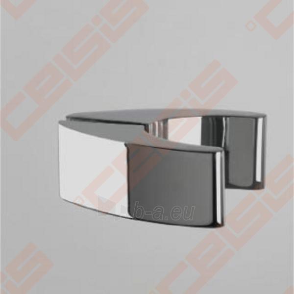 Vieno elemento varstomos dušo durys ROLTECHNIK ELEGANT LINE GDNP1/100, skirtos montuoti į nišą, su brillant spalvos profiliu ir skaidriu stiklu (dešinė) Paveikslėlis 2 iš 5 270770000415