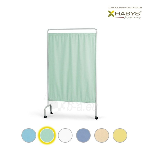 Vienos dalies širma HABYS Parawan Standard I Aquamarine Paveikslėlis 1 iš 1 310820205712