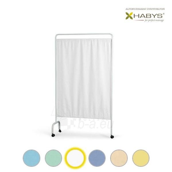 Vienos dalies širma HABYS Parawan Standard I White Paveikslėlis 1 iš 1 310820205695