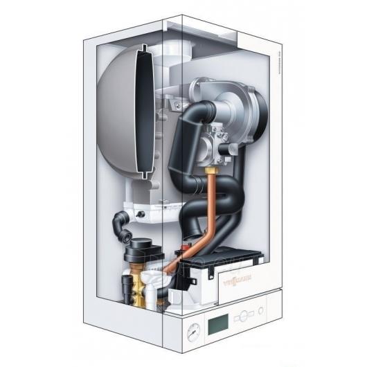 Viessmann Vitodens100W (6,5-19,0kw) + su boileriu (100,120,150) Paveikslėlis 2 iš 4 271311000127