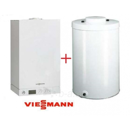 Viessmann Vitodens100W (8,8-35,0kw) + su atskiru boileriu Paveikslėlis 4 iš 5 271311000129