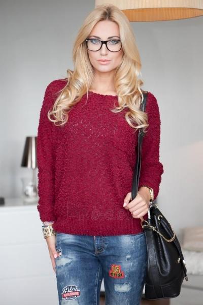 Vilnonis megztinis Joy (bordinės spalvos) Paveikslėlis 1 iš 4 310820032733