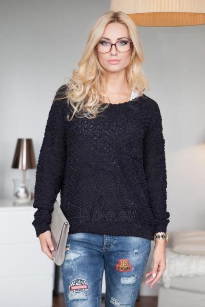 Vilnonis megztinis Joy (juodos spalvos) Paveikslėlis 1 iš 4 310820032735