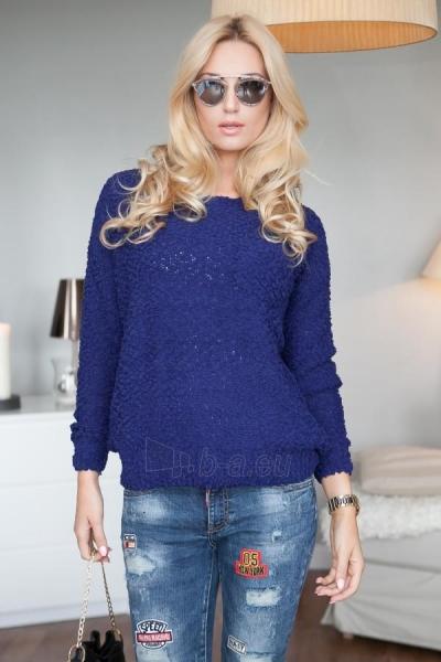 Vilnonis megztinis Joy (tamsiai mėlynos spalvos) Paveikslėlis 1 iš 4 310820032731