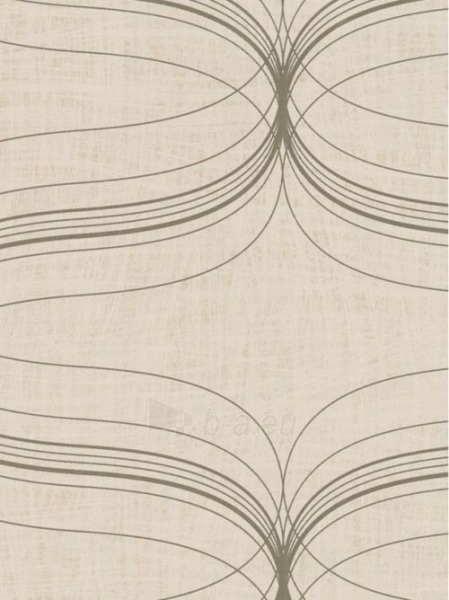 Viniliniai tapetai Marburg 53151 LA VENEZIA 53 cm, pilki su ornamentais Paveikslėlis 1 iš 2 237712000481