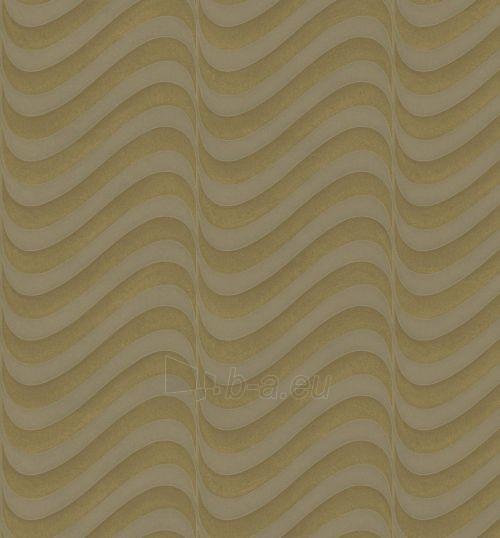 Viniliniai tapetai Marburg 77806 OPULENCE 70 cm, rusvi bangomis Paveikslėlis 1 iš 1 237712000509