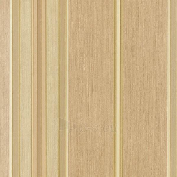 Viniliniai tapetai Sirpi 94151 ITALIAN SILKS 10,05x0,53 m, šv.rudi dryžuoti Paveikslėlis 1 iš 2 237712000522