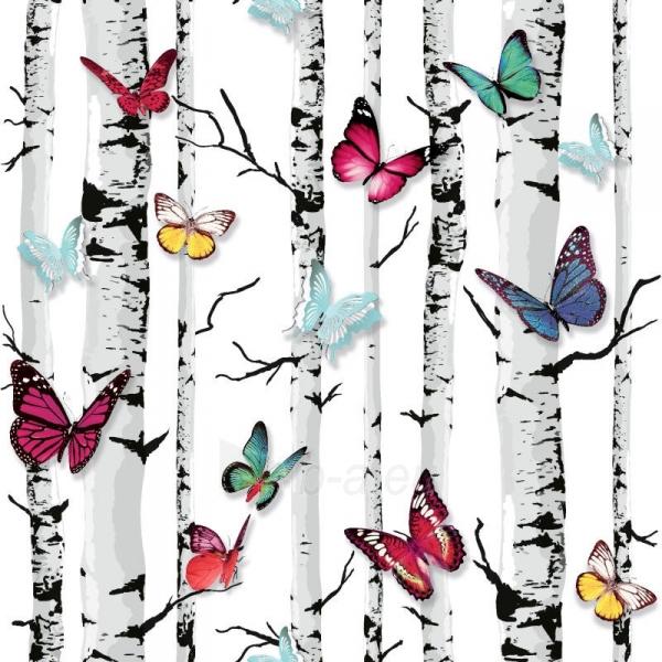 Viniliniai tapetai Ugepa S.A. E71820 53 cm, drugeliai medyje Paveikslėlis 1 iš 3 237712000535