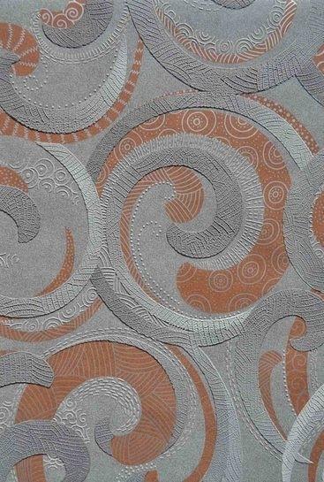 Viniliniai tapetai Ugepa S.A. F842-18 53 cm, pilki su ornamentais Paveikslėlis 1 iš 1 237712000548