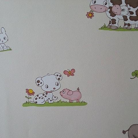 J241-07 HELLO KIDS 10,05x0,53 m wallpaper, child light with naminiais Paveikslėlis 1 iš 1 237712000561