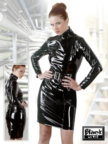 Vinyl Dress with Belt Paveikslėlis 1 iš 1 25140807000314